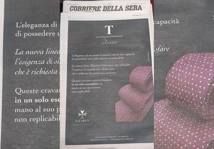 Talarico Unica Corriere della sera