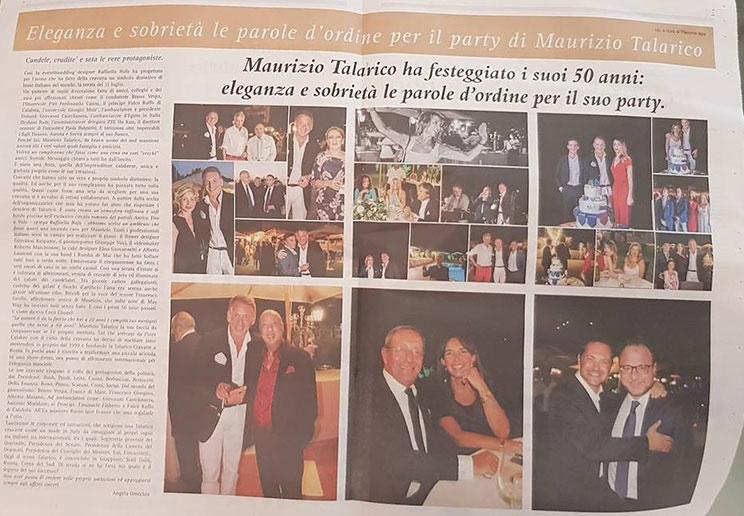 Talarico 50 anni Corriere della Sera